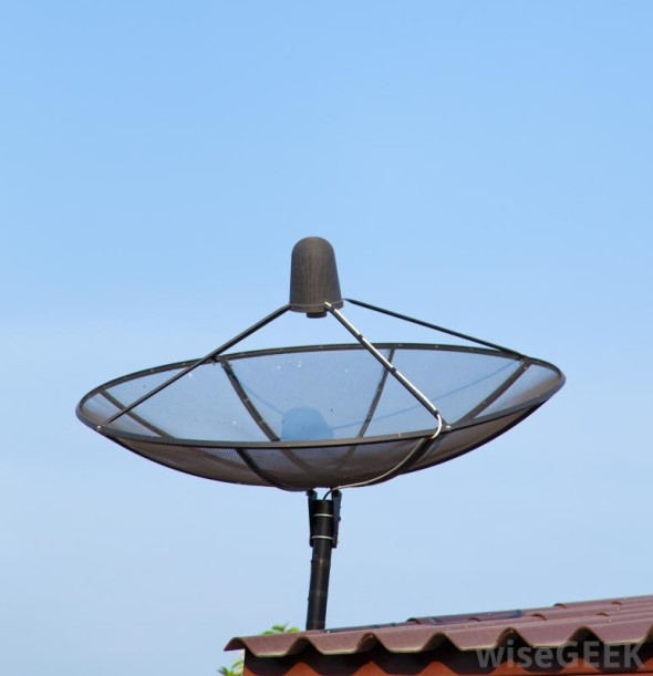 satellite-dish-on-top-of-roof